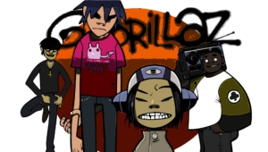 Gorillaz Widescreen