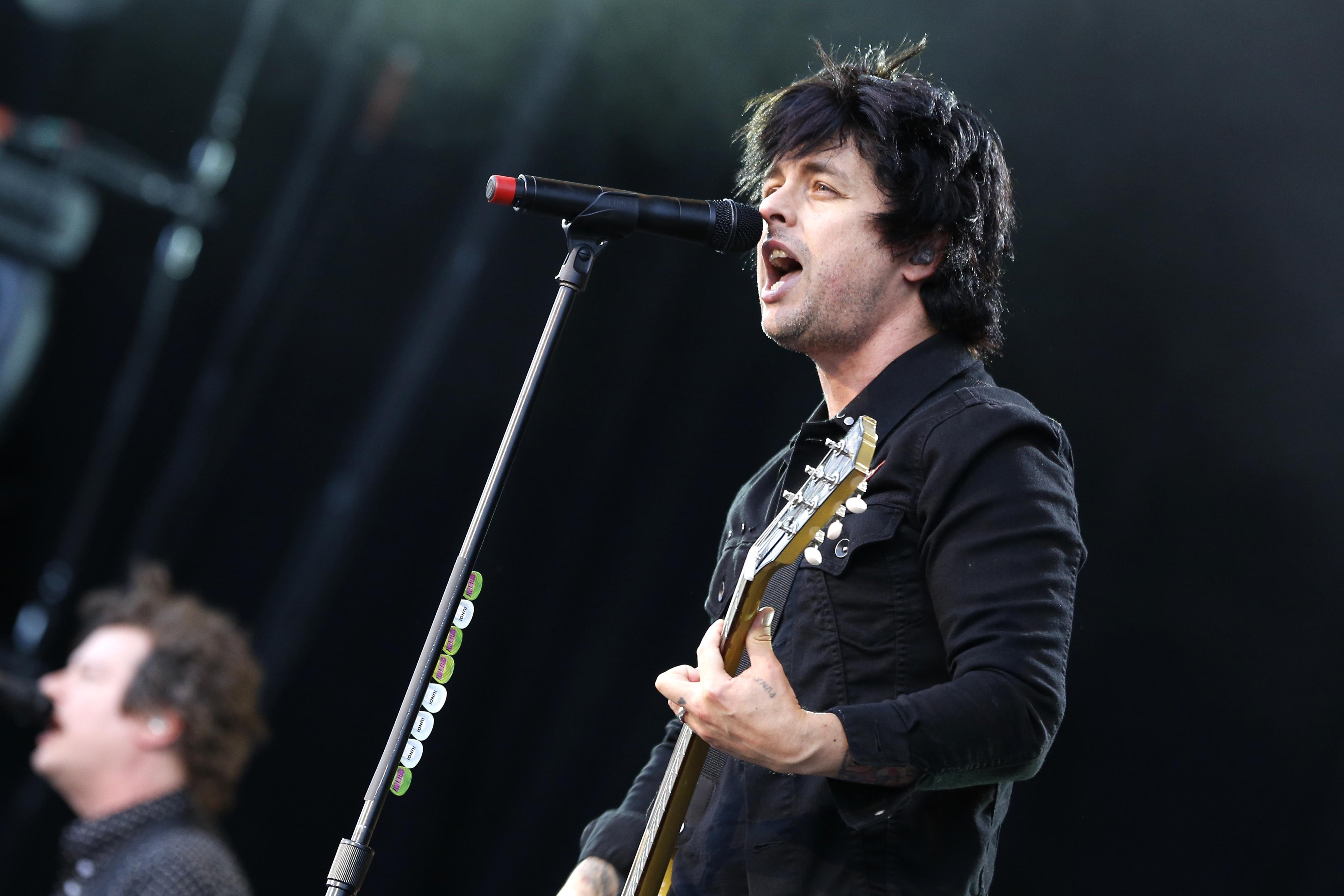 Green Day 4k