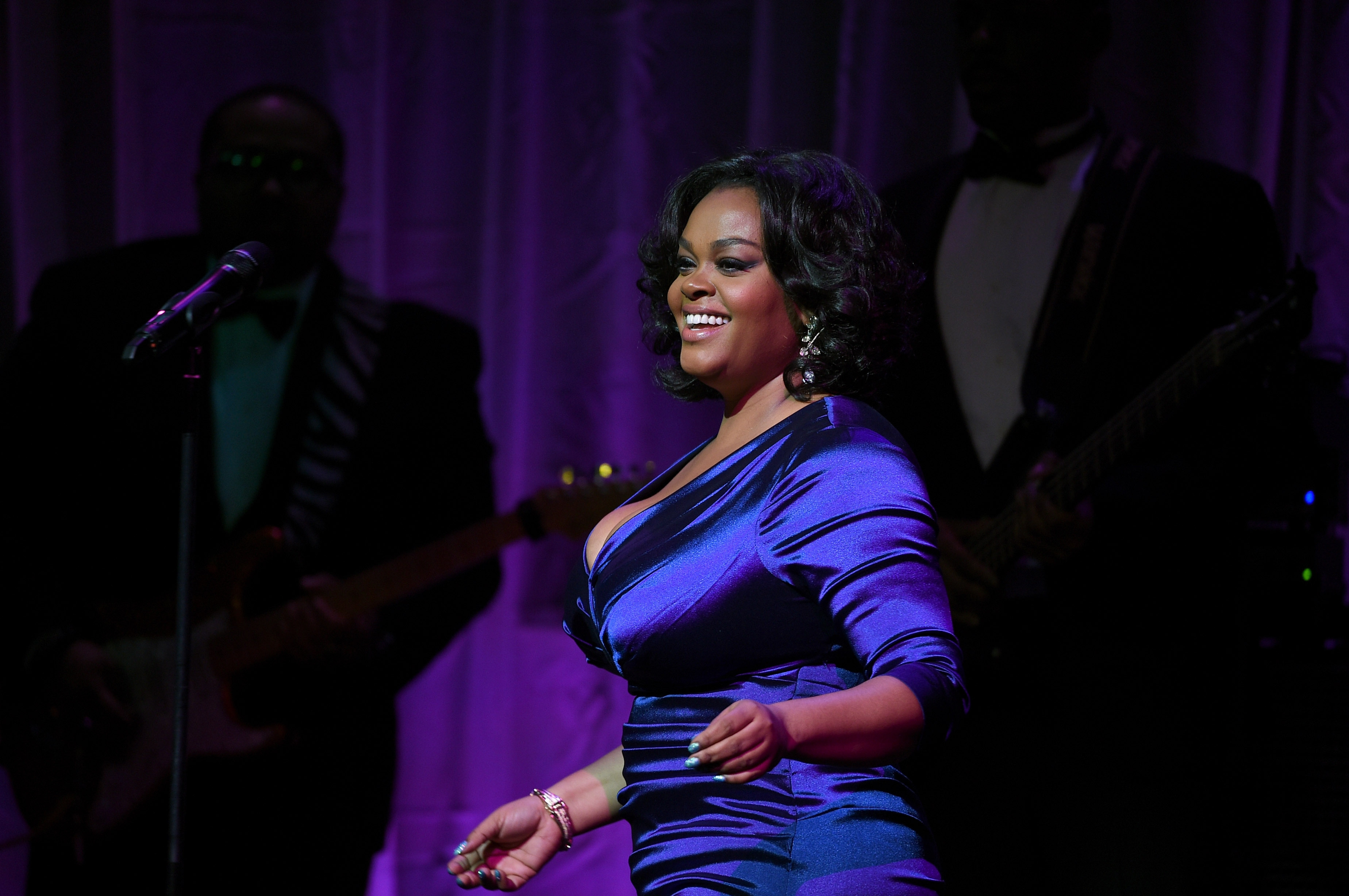 Jill Scott Weight Loss prettier at lower weight