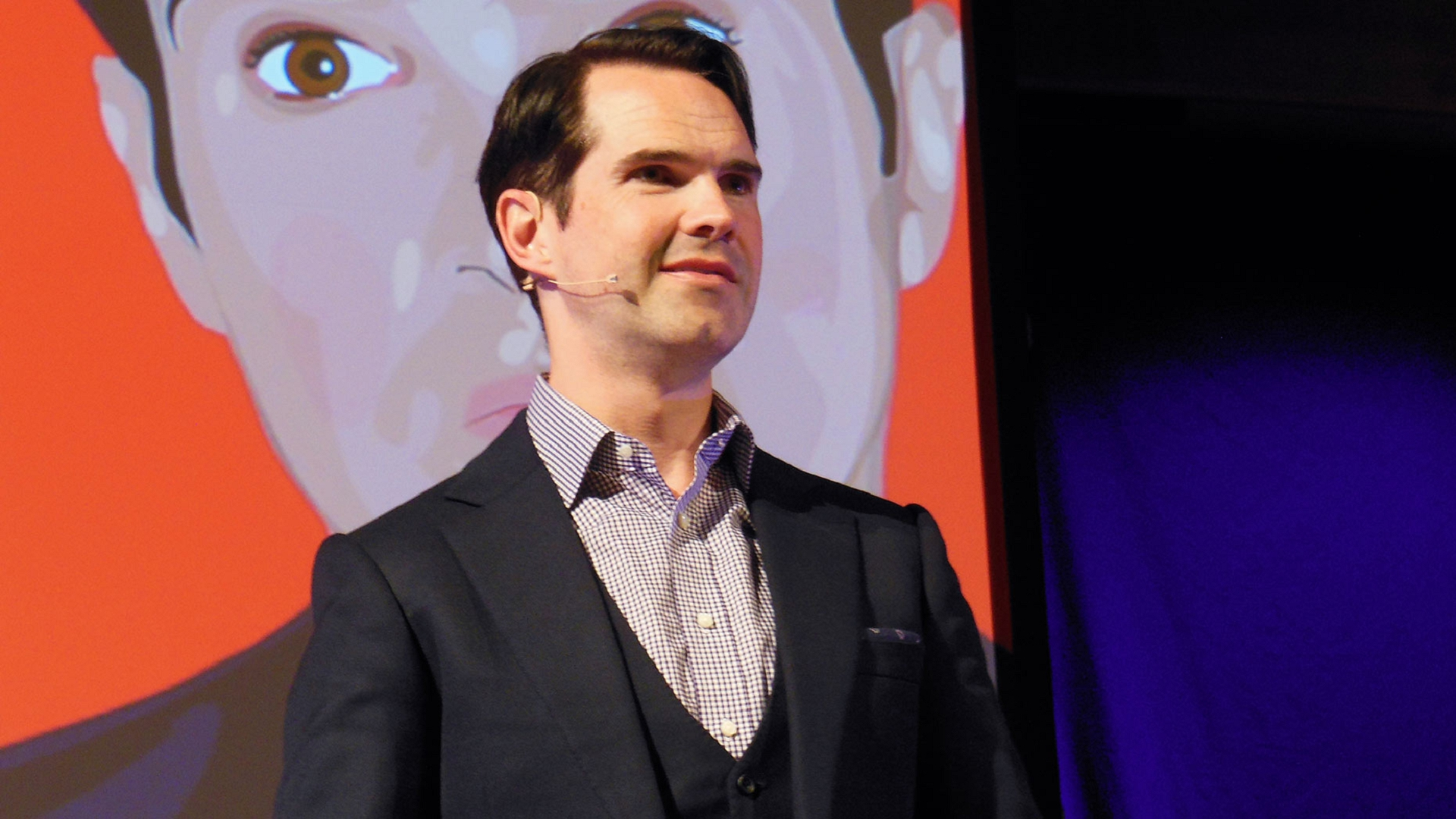 Jimmy Carr Hd Background
