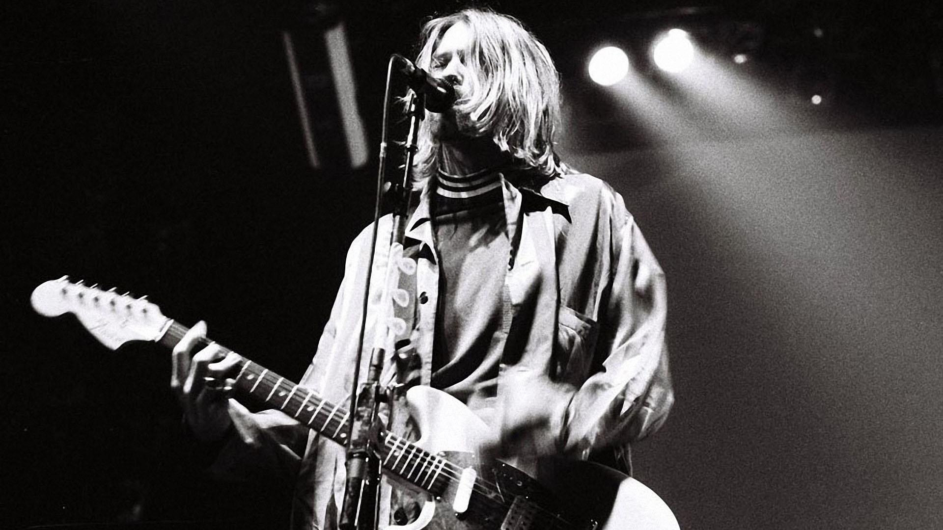 Kurt Cobain Widescreen
