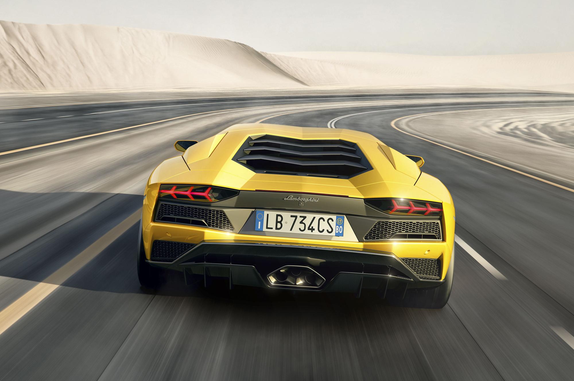 Lamborghini Aventador S High Quality Wallpapers