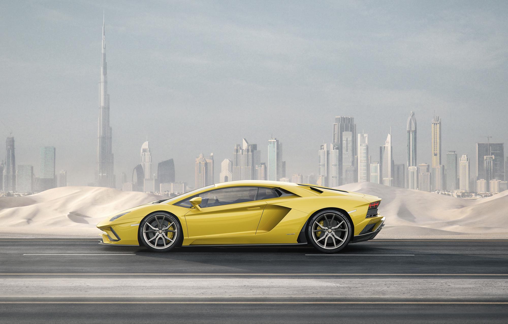 Lamborghini Aventador S Images