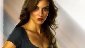 Lauren Cohan Widescreen
