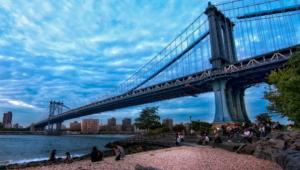 Manhattan Bridge Computer Wallpaper
