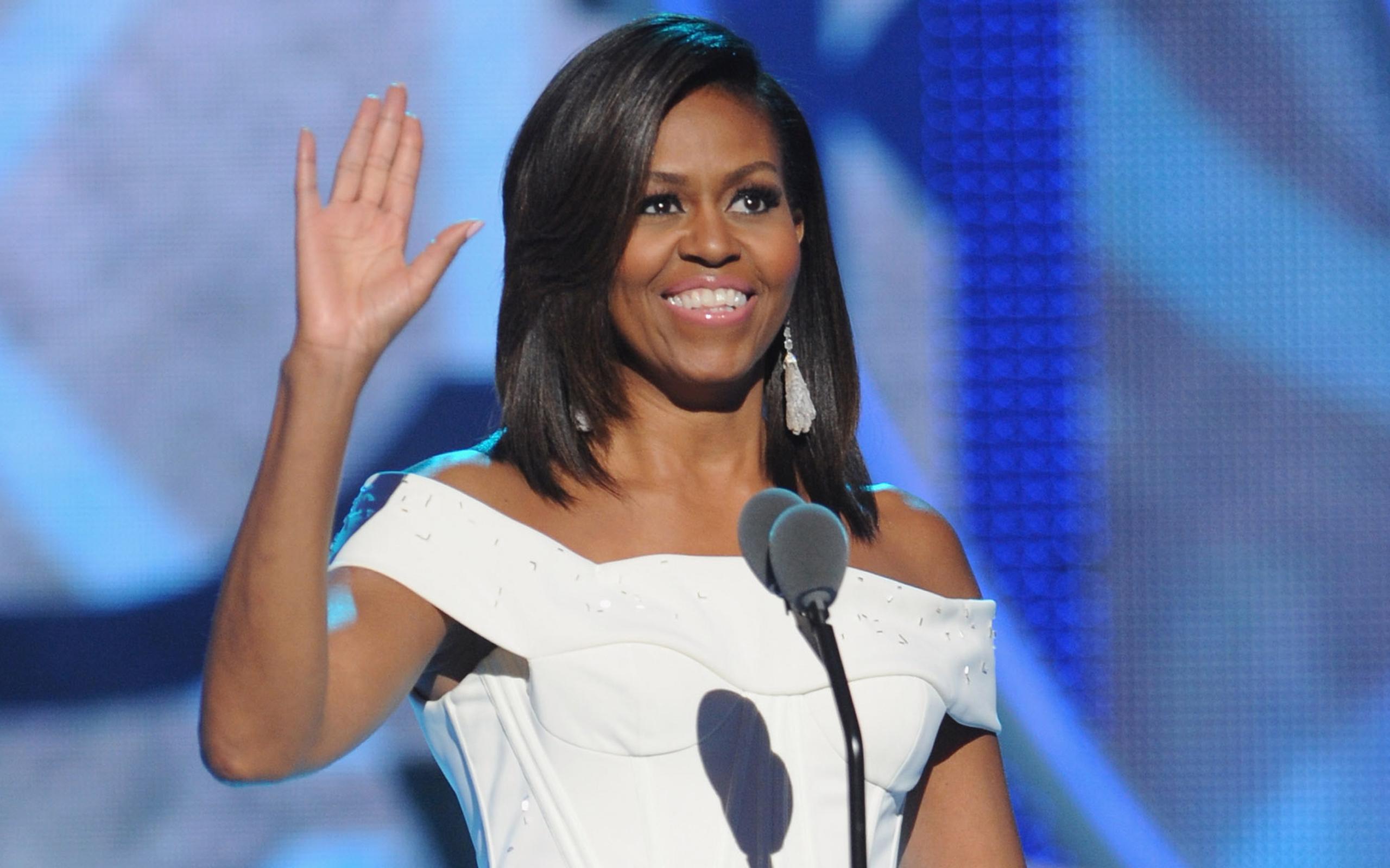 Michelle Obama Hd Background