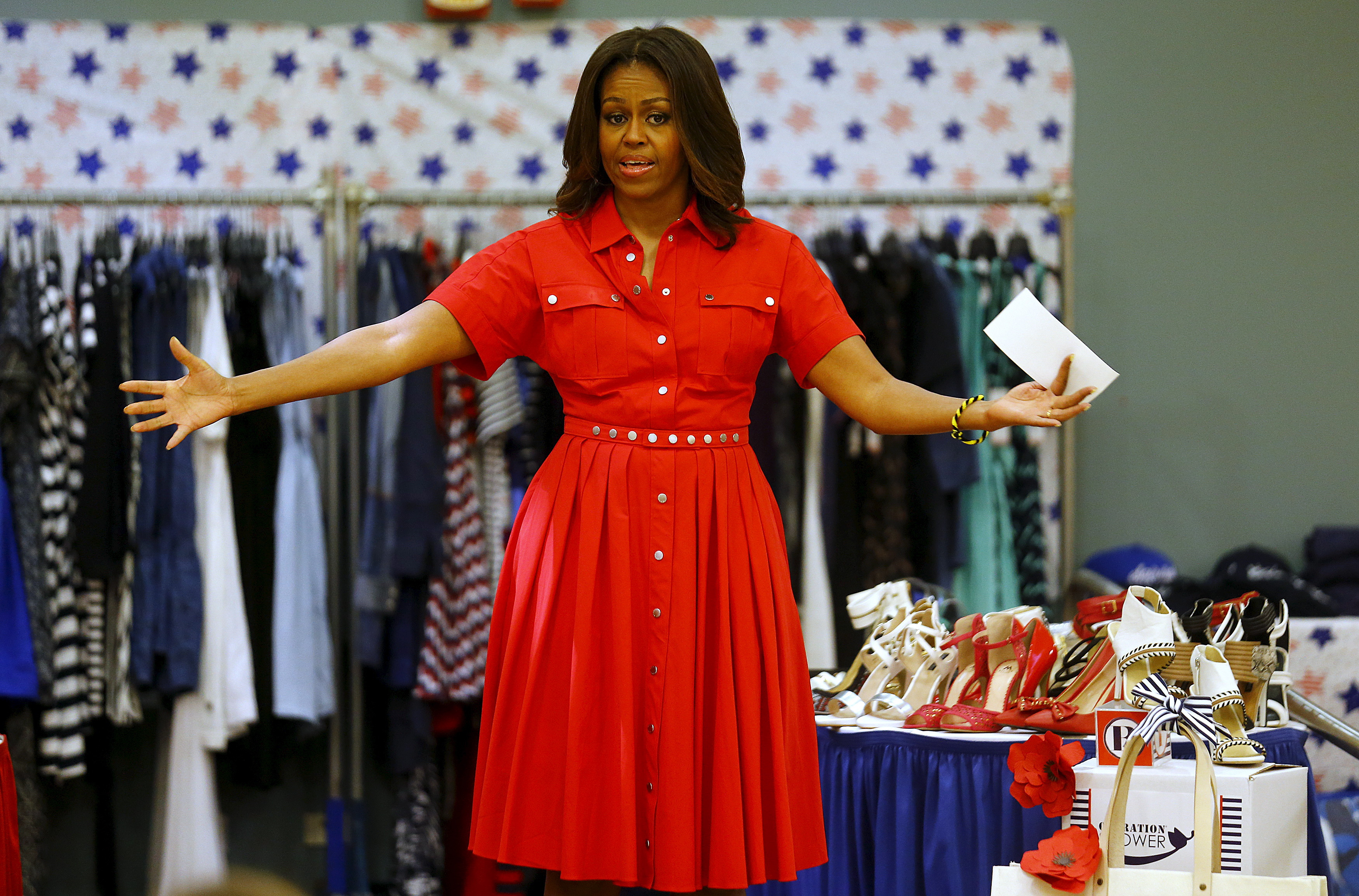 Michelle Obama High Quality Wallpapers