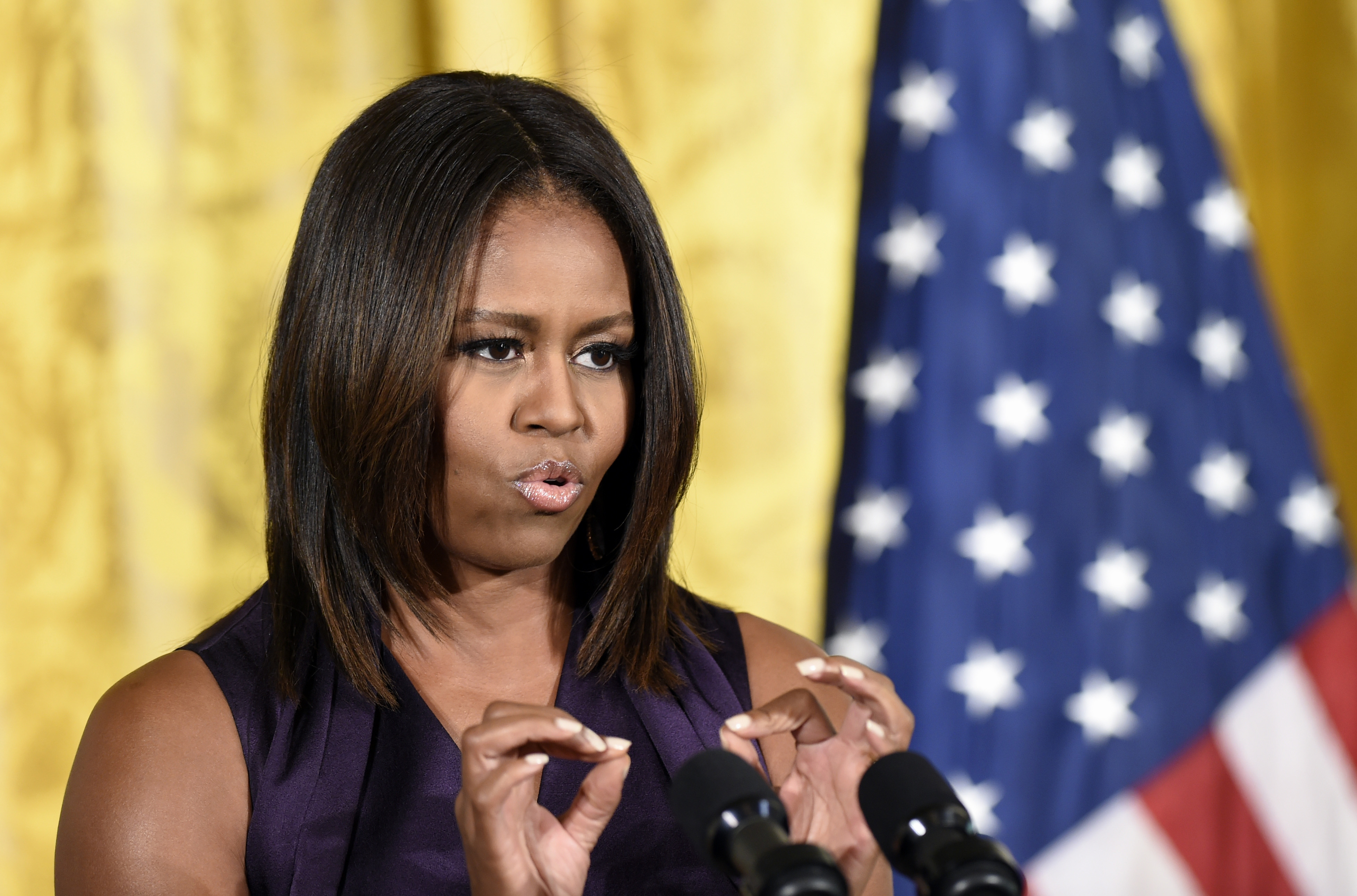 Michelle Obama Full Hd