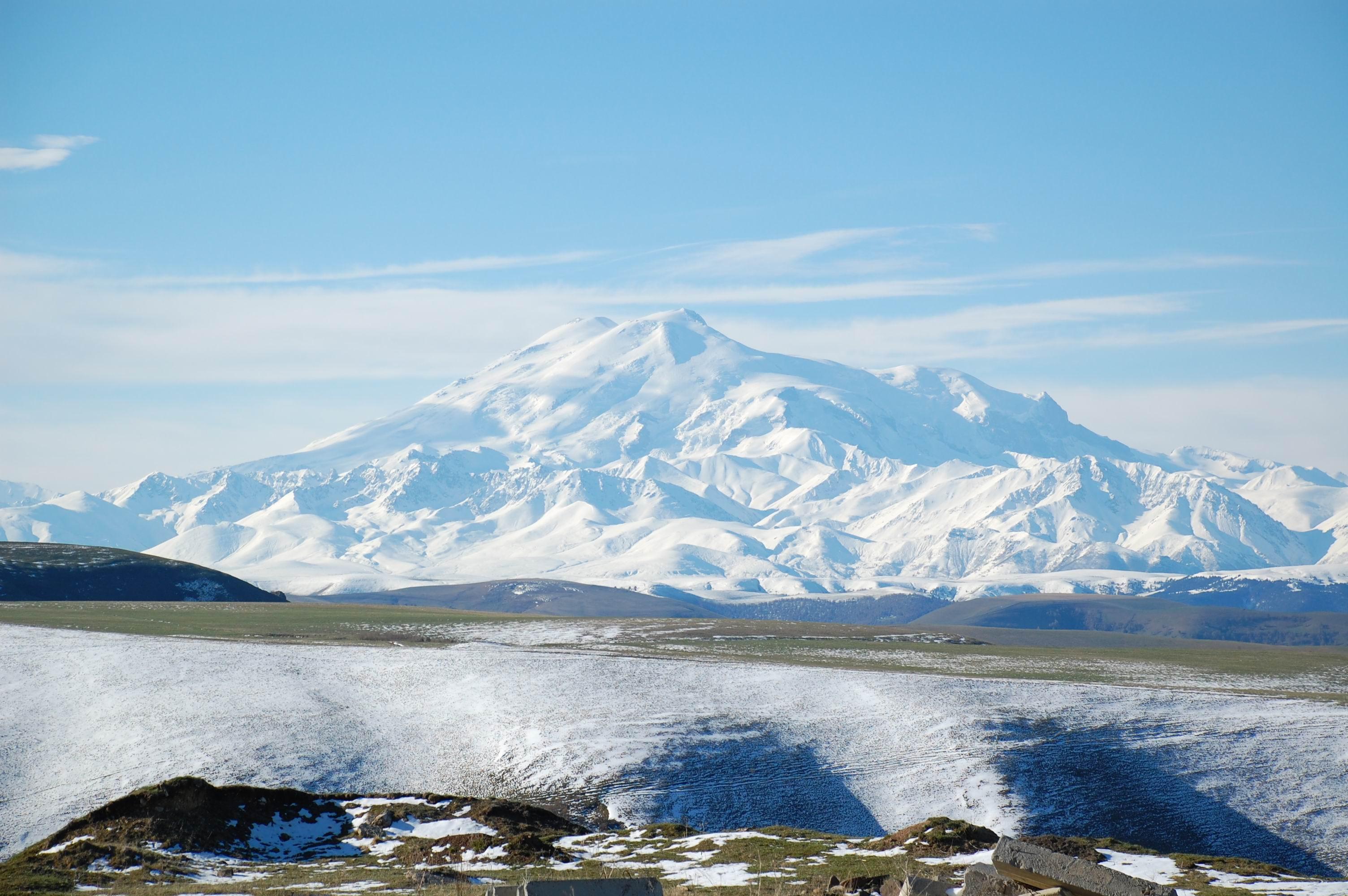 Mount Elbrus 4k
