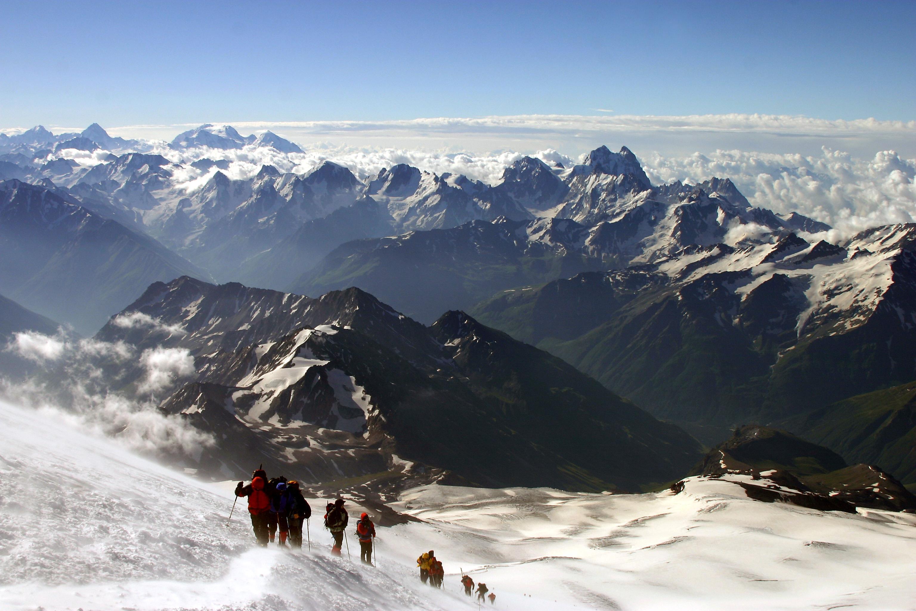 Mount Elbrus Widescreen