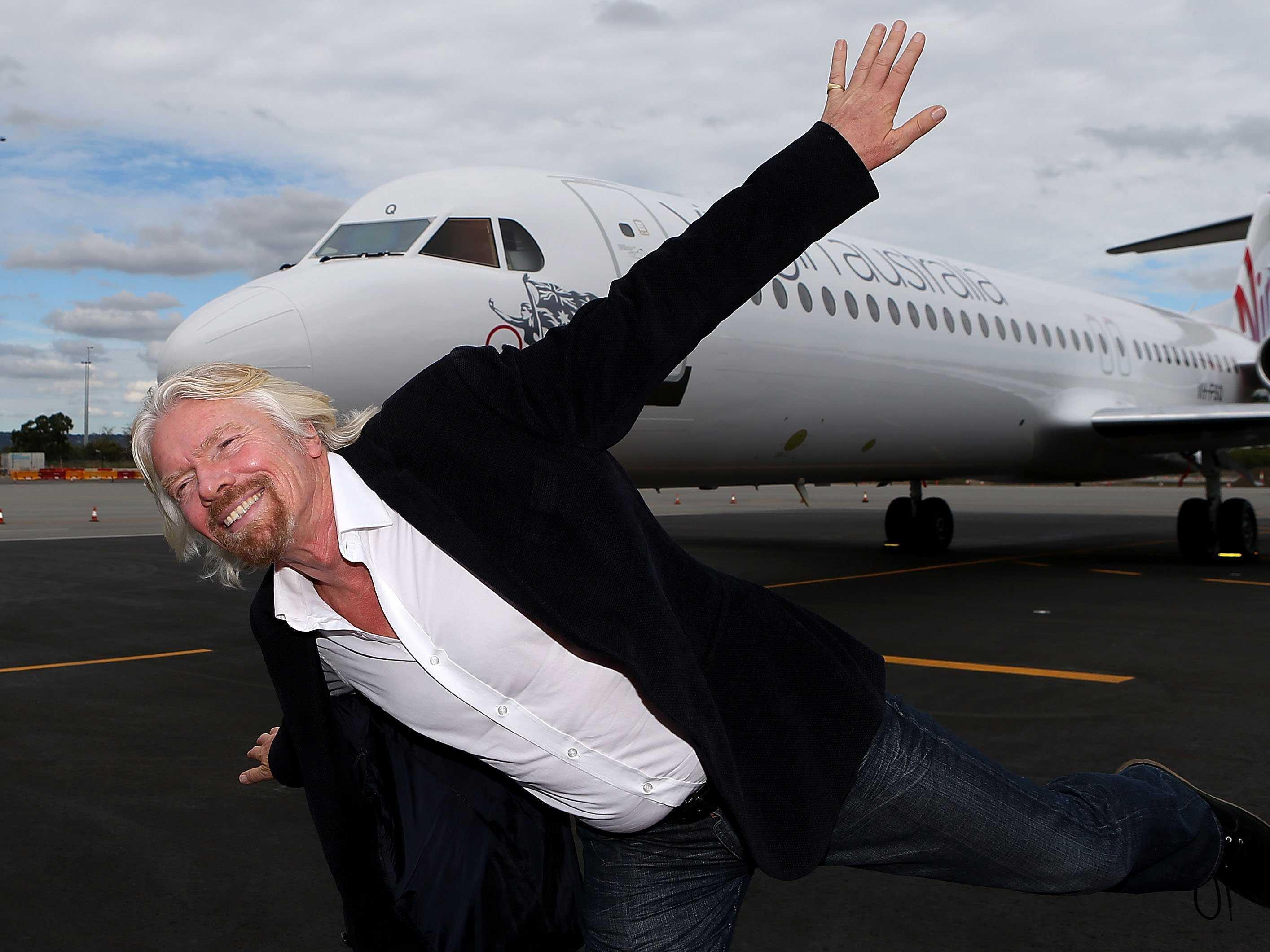 Richard Branson Widescreen