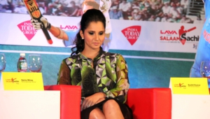 Sania Mirza For Desktop