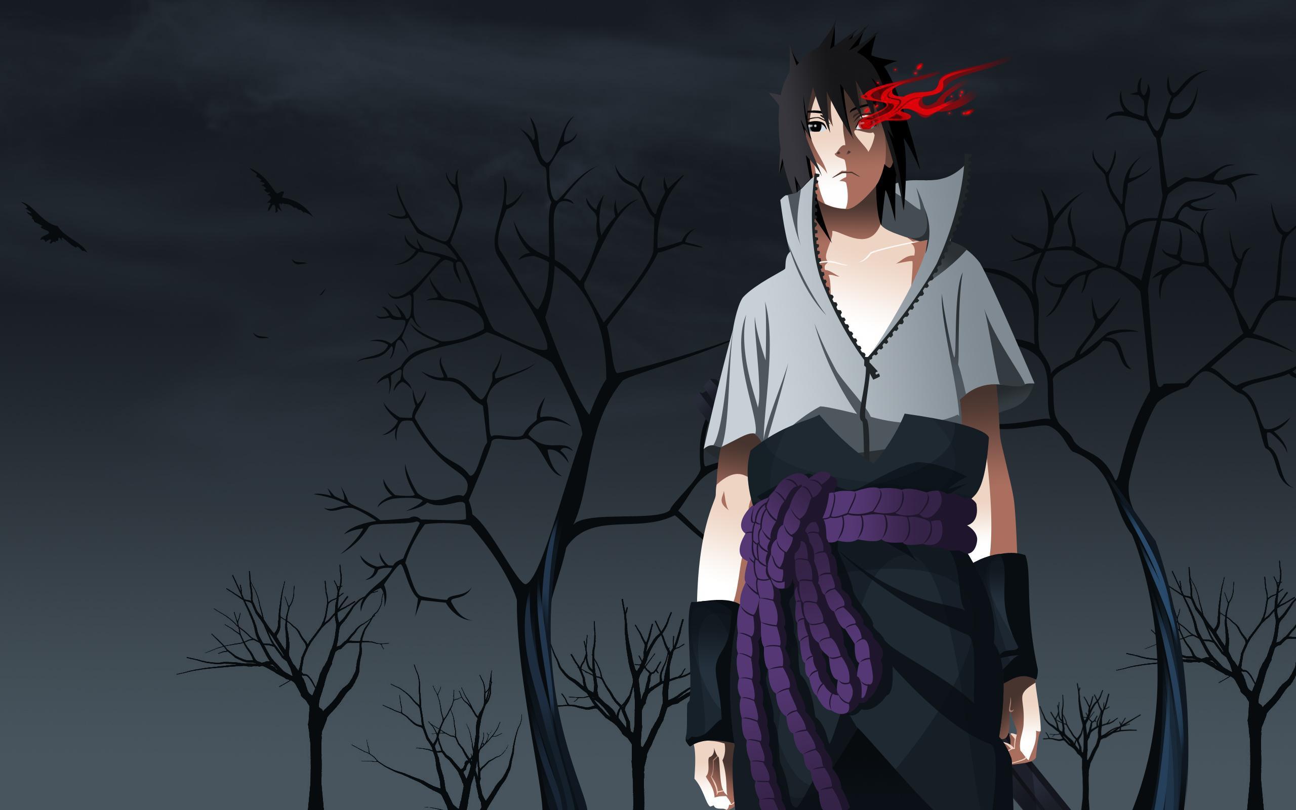Sasuke Uchiha Desktop Wallpaper