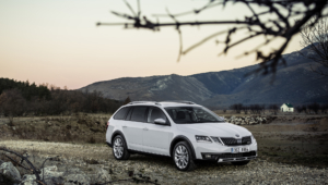 Skoda Octavia Scout 2017 Wallpapers Hd
