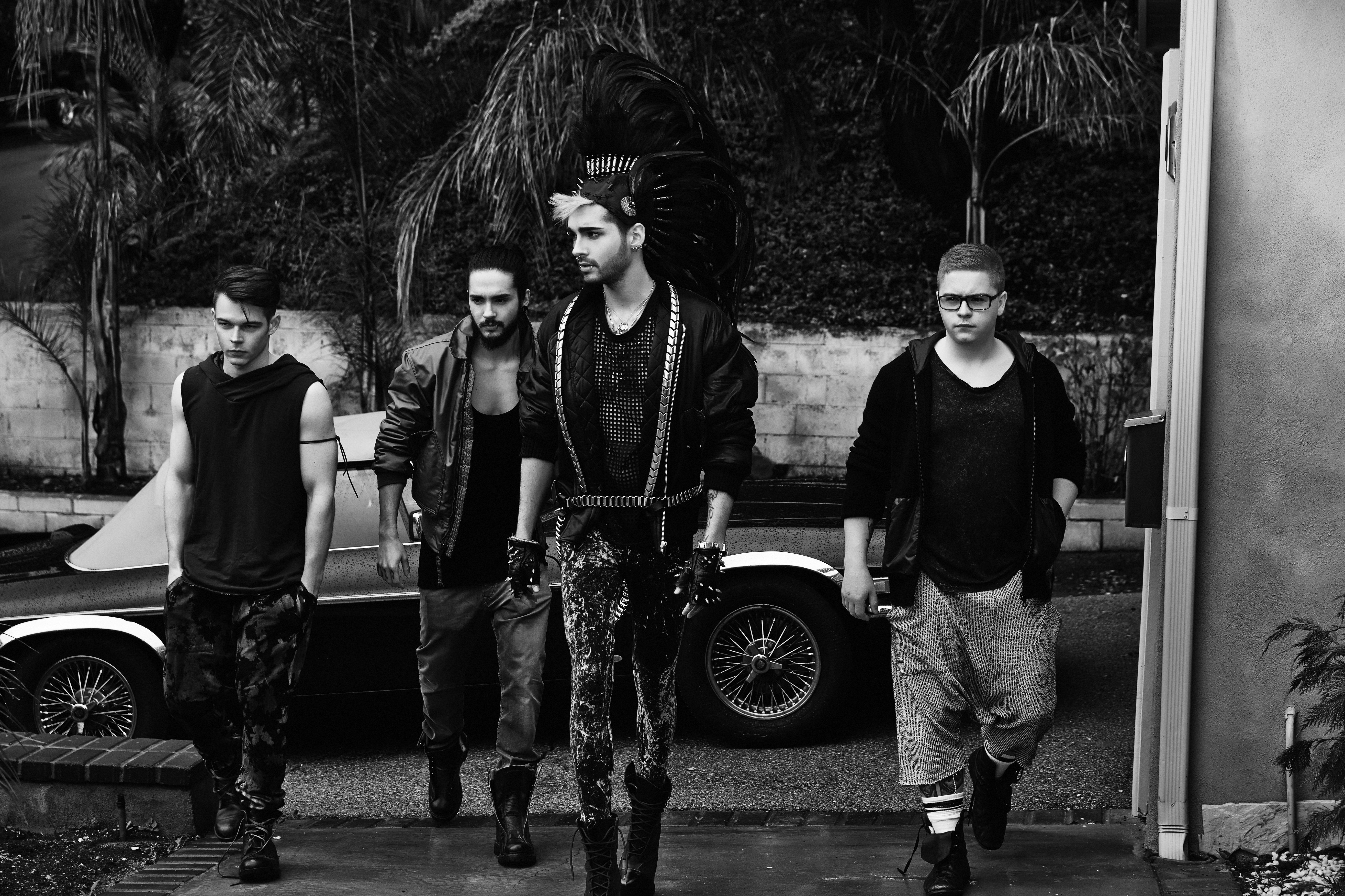 Tokio Hotel Hd Background