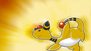 Ampharos Computer Wallpaper