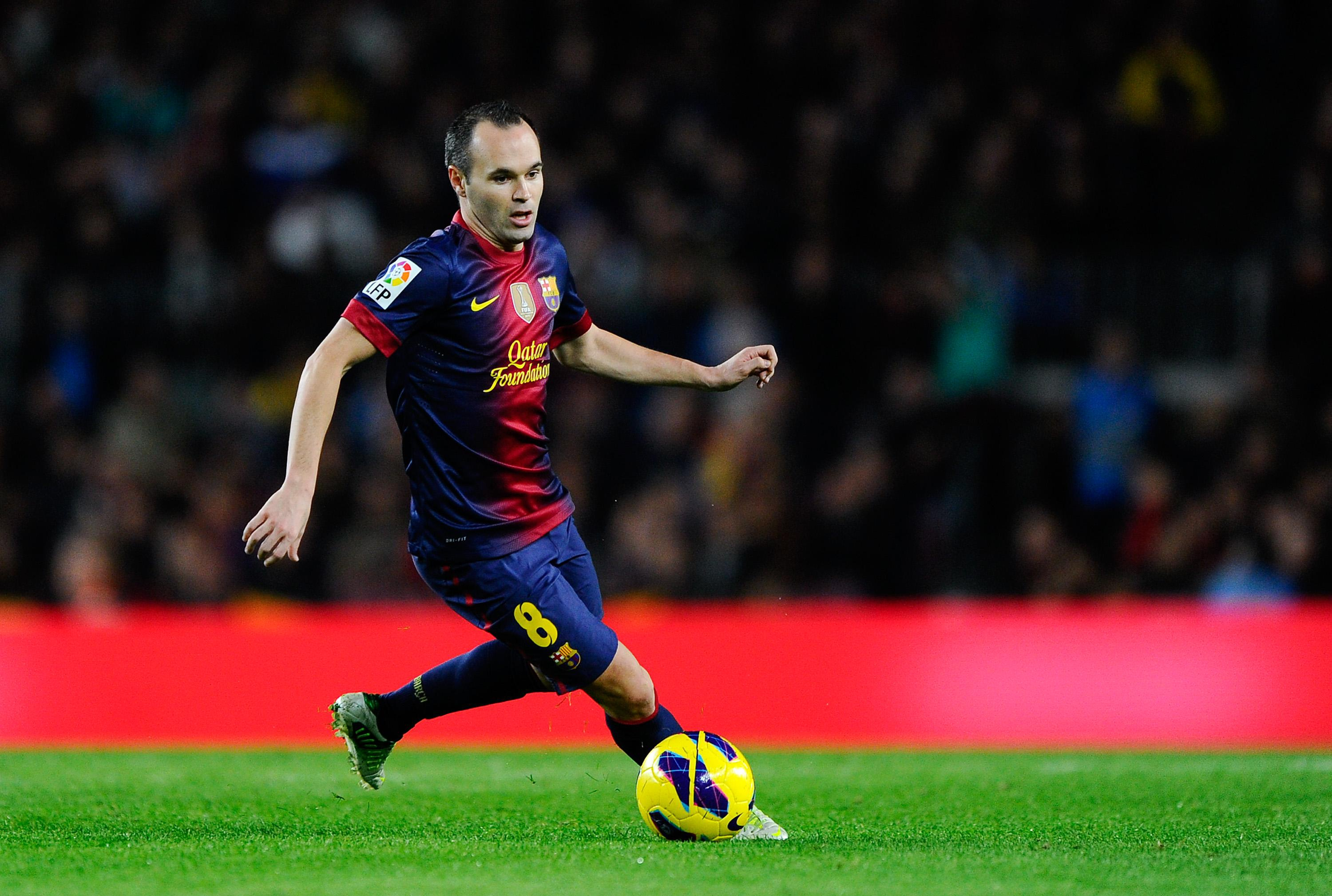 Andres Iniesta Hd Background