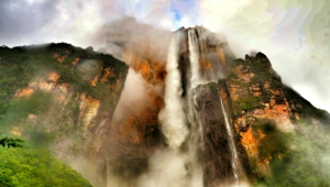 Angel Falls Hd Background