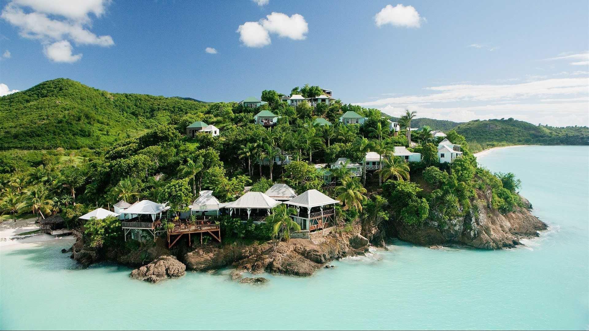 Antigua Background