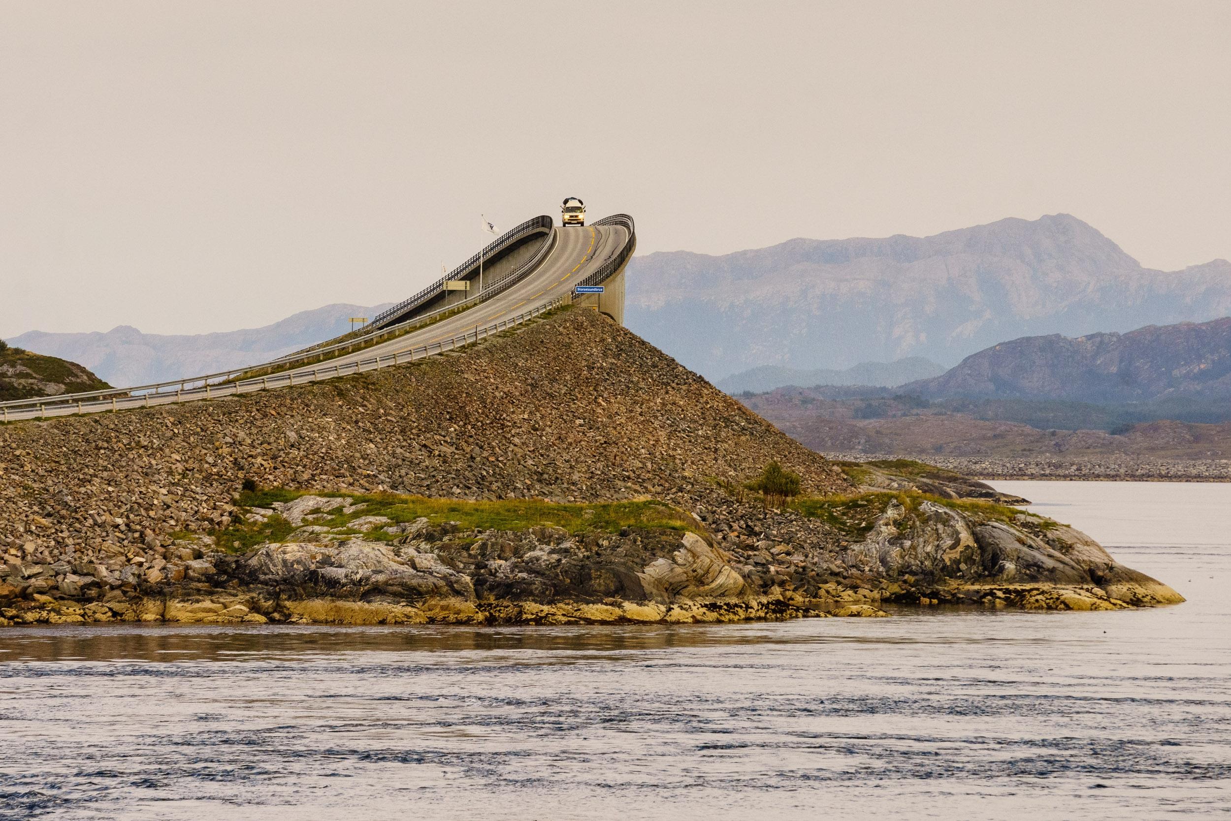 Atlantic Ocean Road In Norway 4k