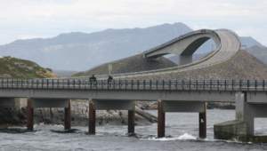 Atlantic Ocean Road In Norway Pictures