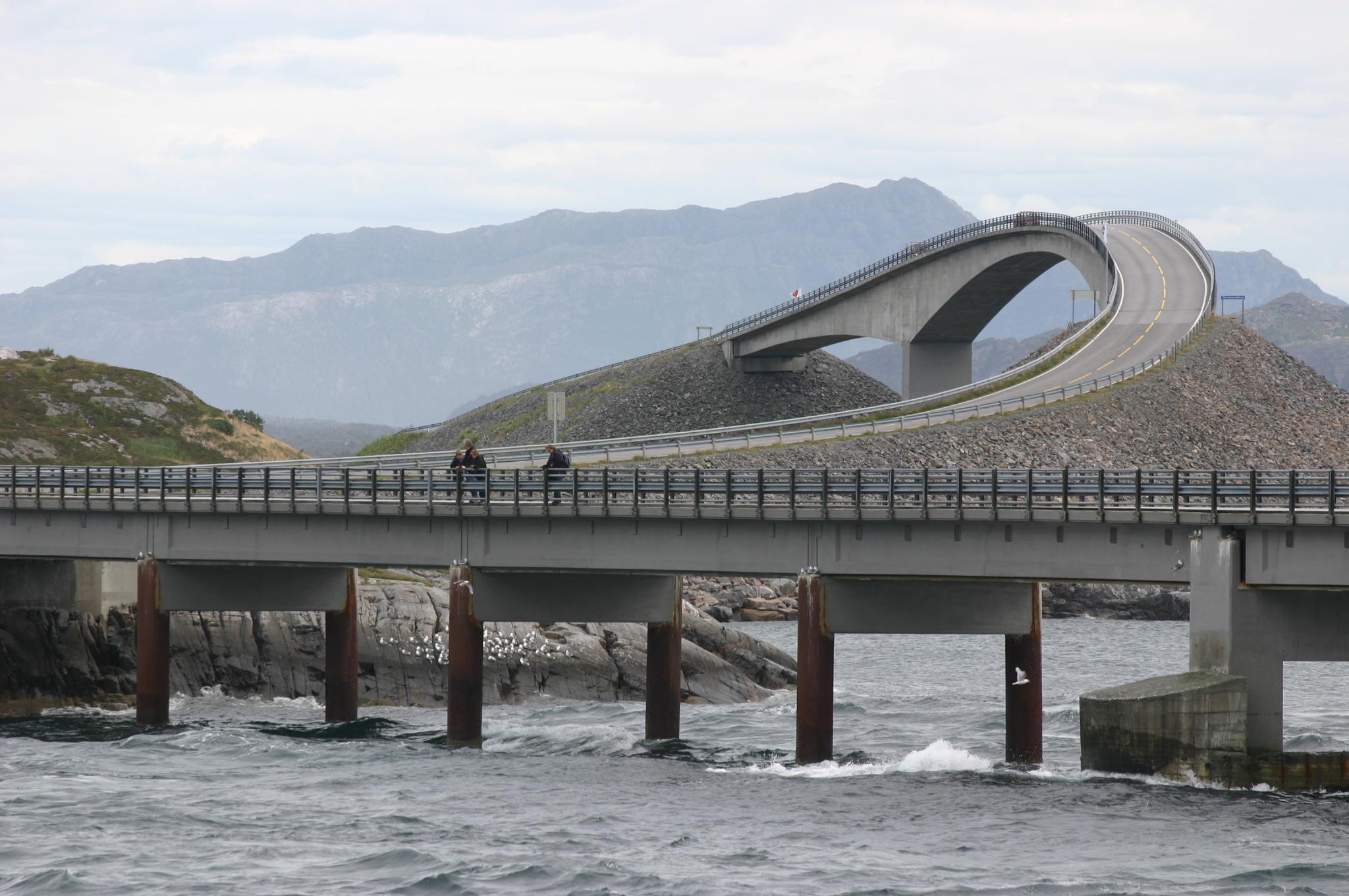 Atlantic Ocean Road In Norway Pictures