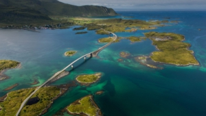 Atlantic Ocean Road In Norway Full Hd