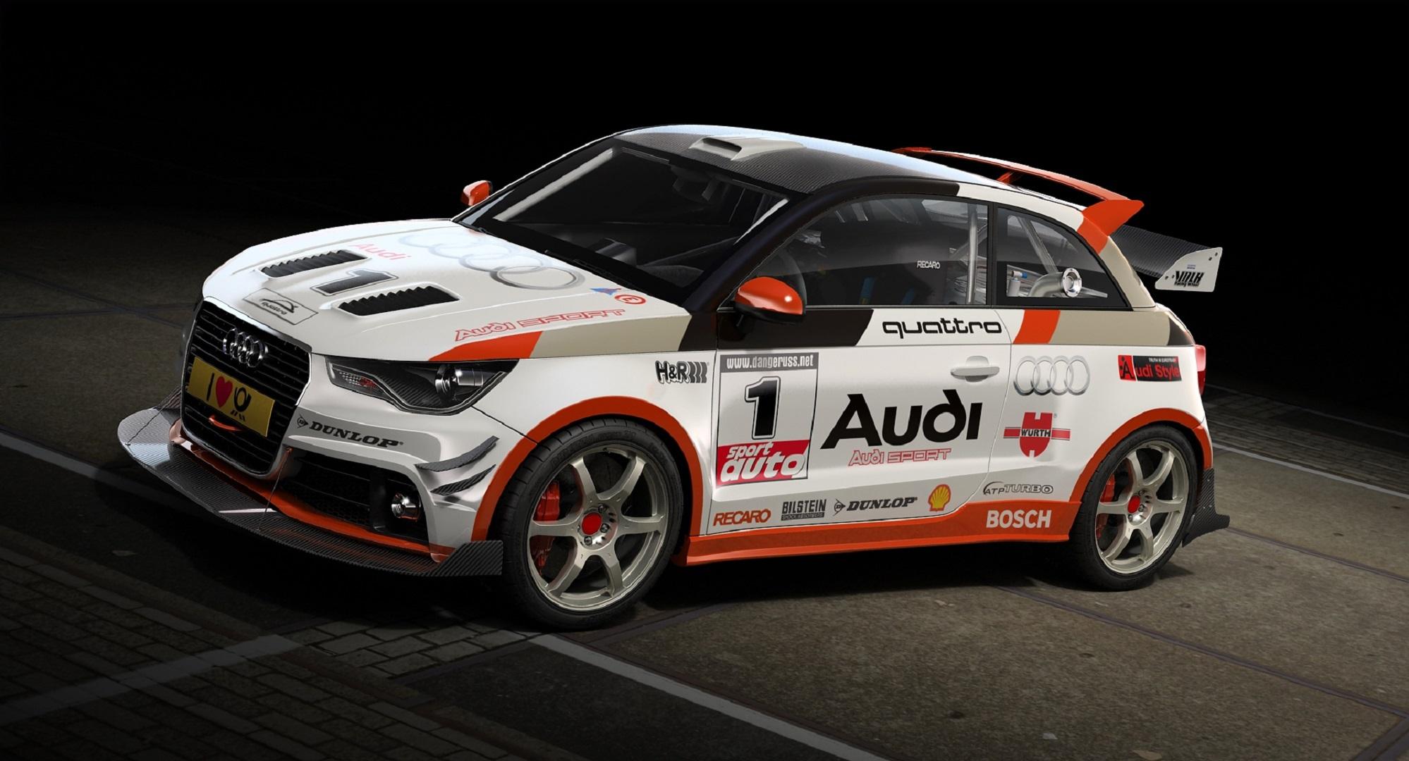 Audi A1 Hd Background