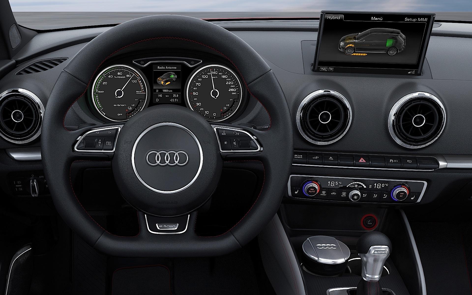 Audi A3 Sportback E Tron Photos