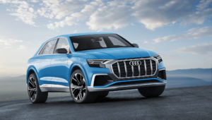 Audi Q8 2018 Background
