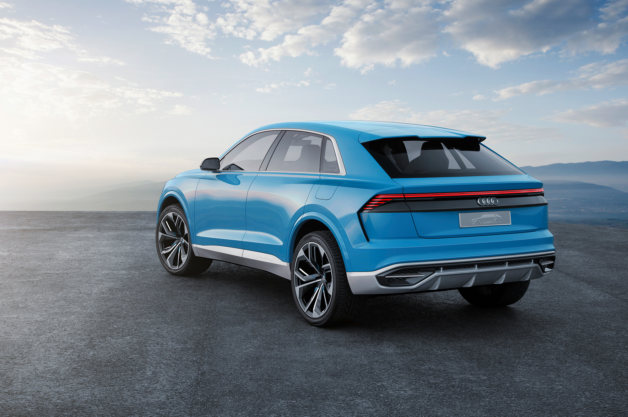 Audi Q8 2018 Hd Desktop