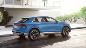 Audi Q8 2018 Hd Wallpaper