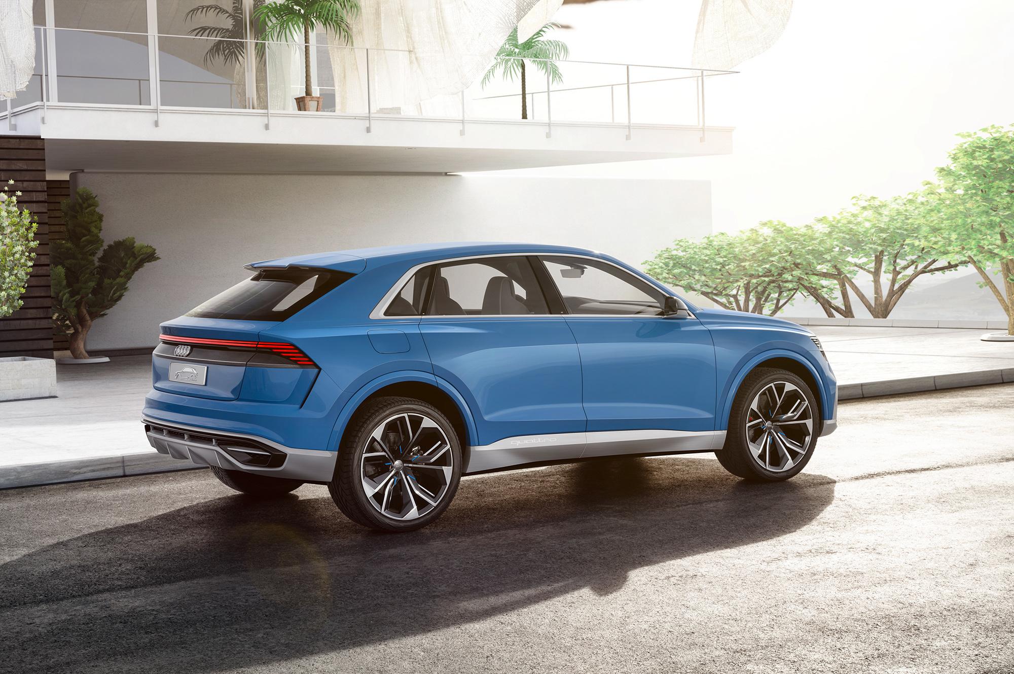 Audi Q8 2018 Hd Wallpaper