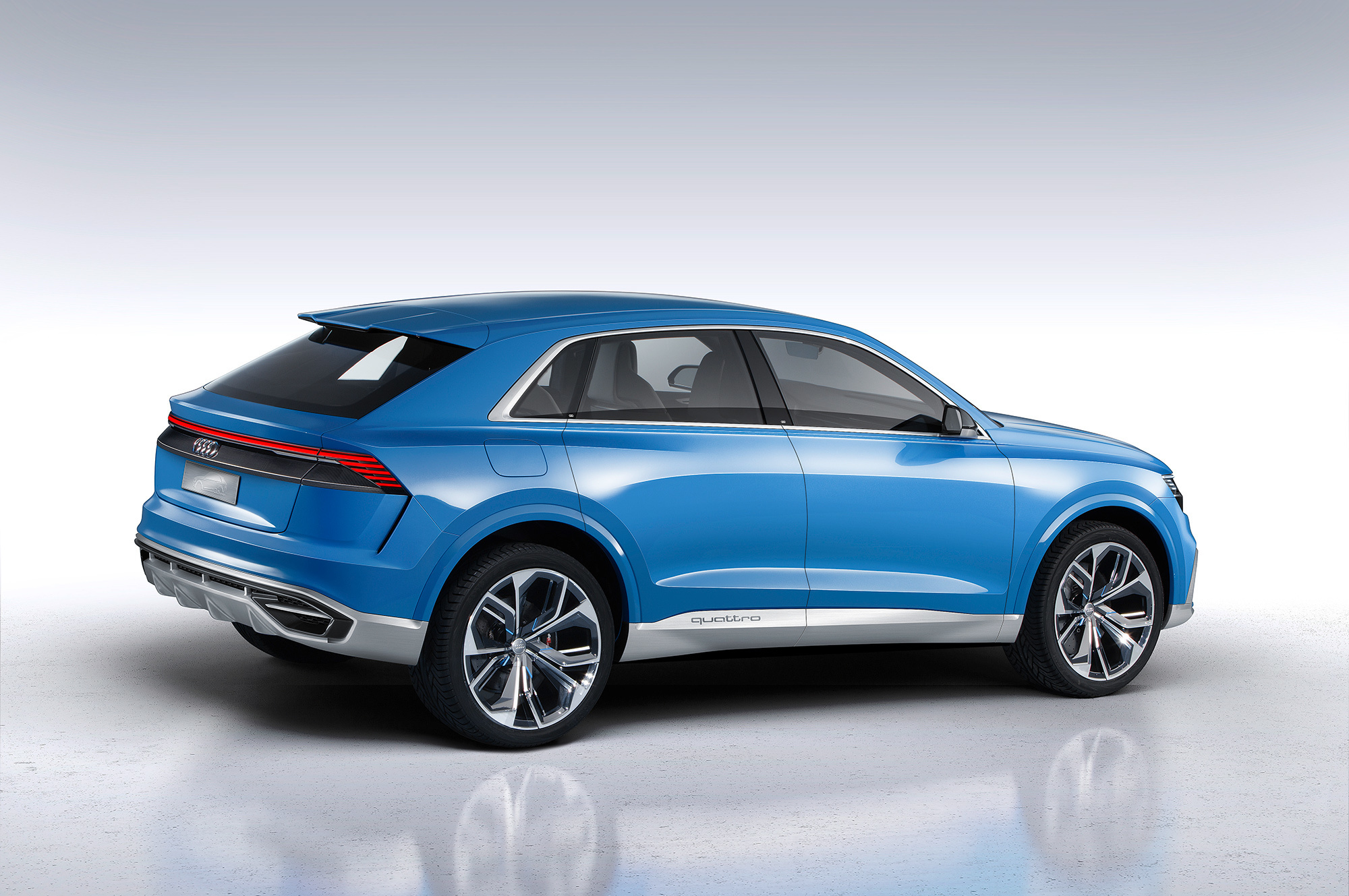 Audi Q8 2018 High Quality Wallpapers