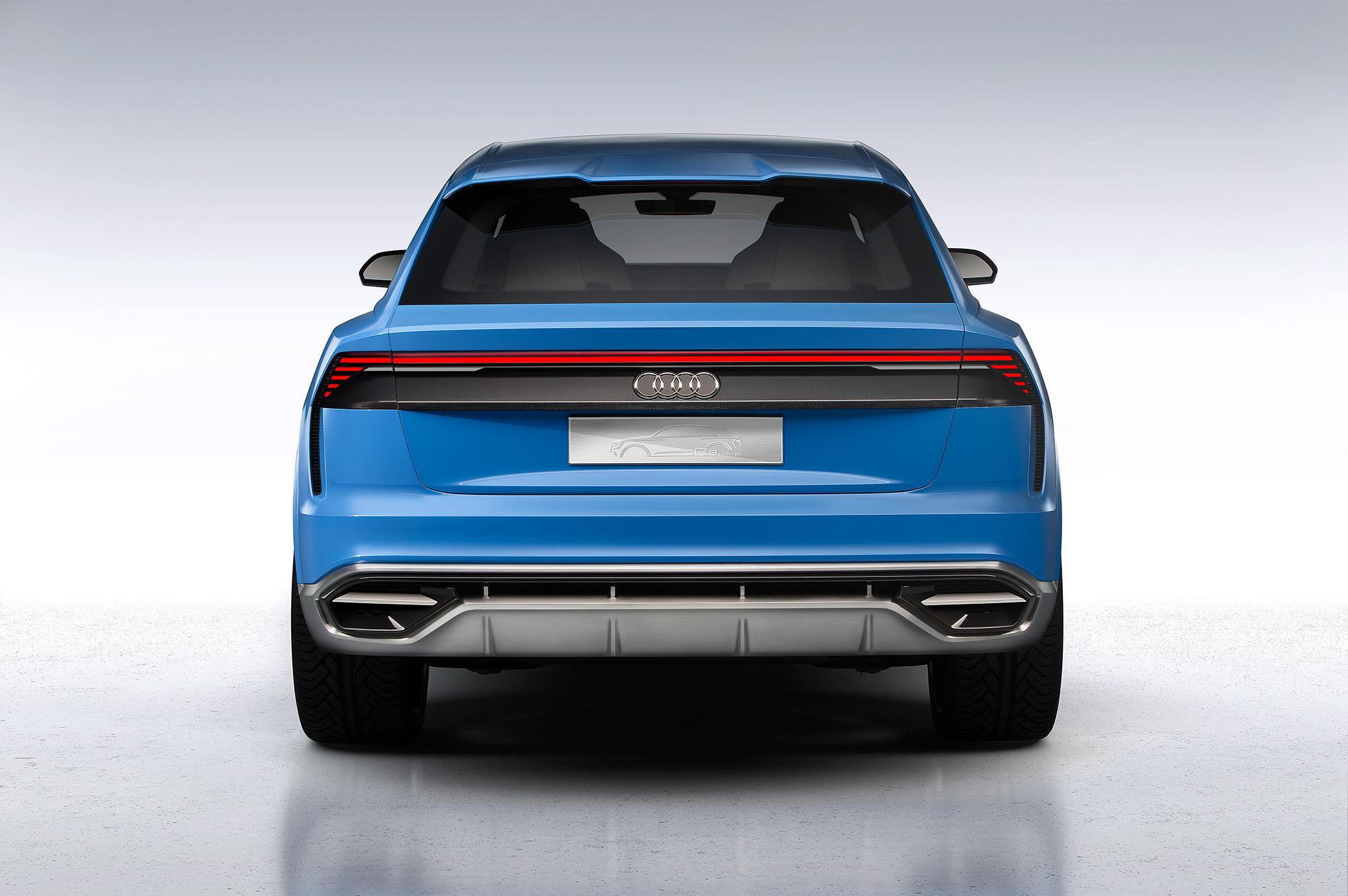 Audi Q8 2018 Photos
