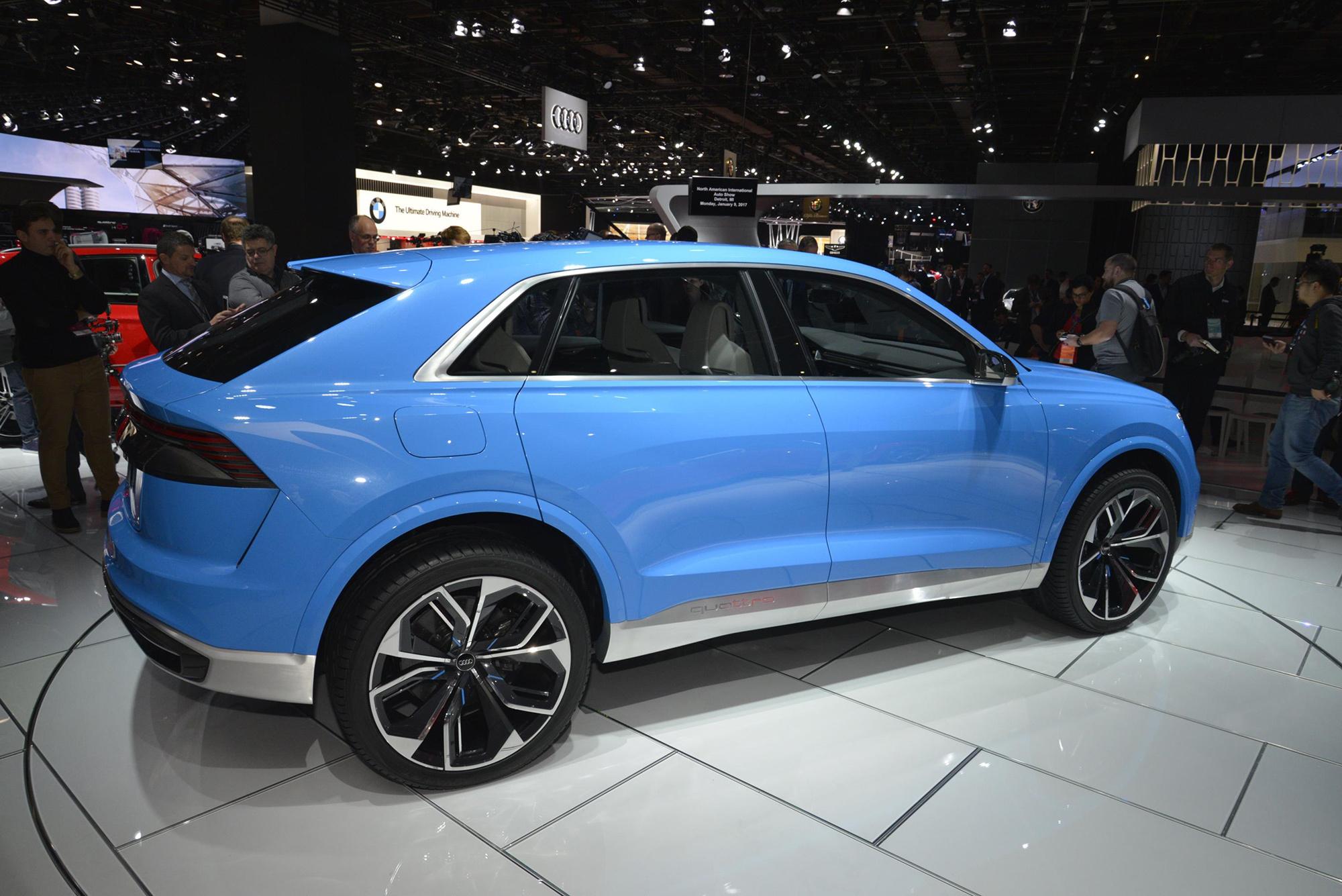 Audi Q8 2018 Wallpaper