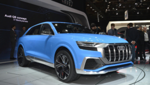 Audi Q8 2018 Wallpapers