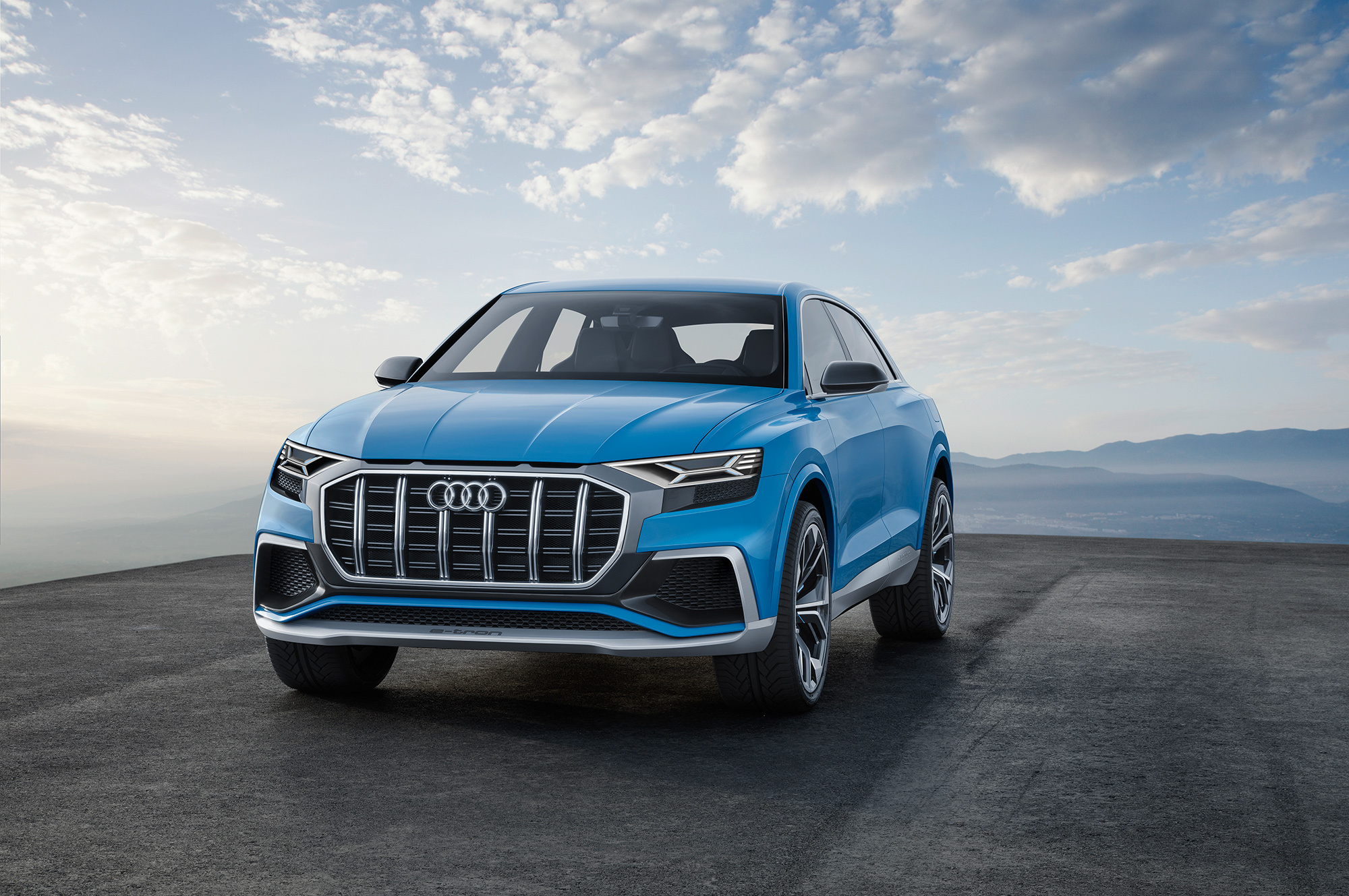 Audi Q8 2018 For Desktop