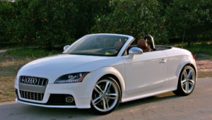 Audi Tt Roadster Hd Background