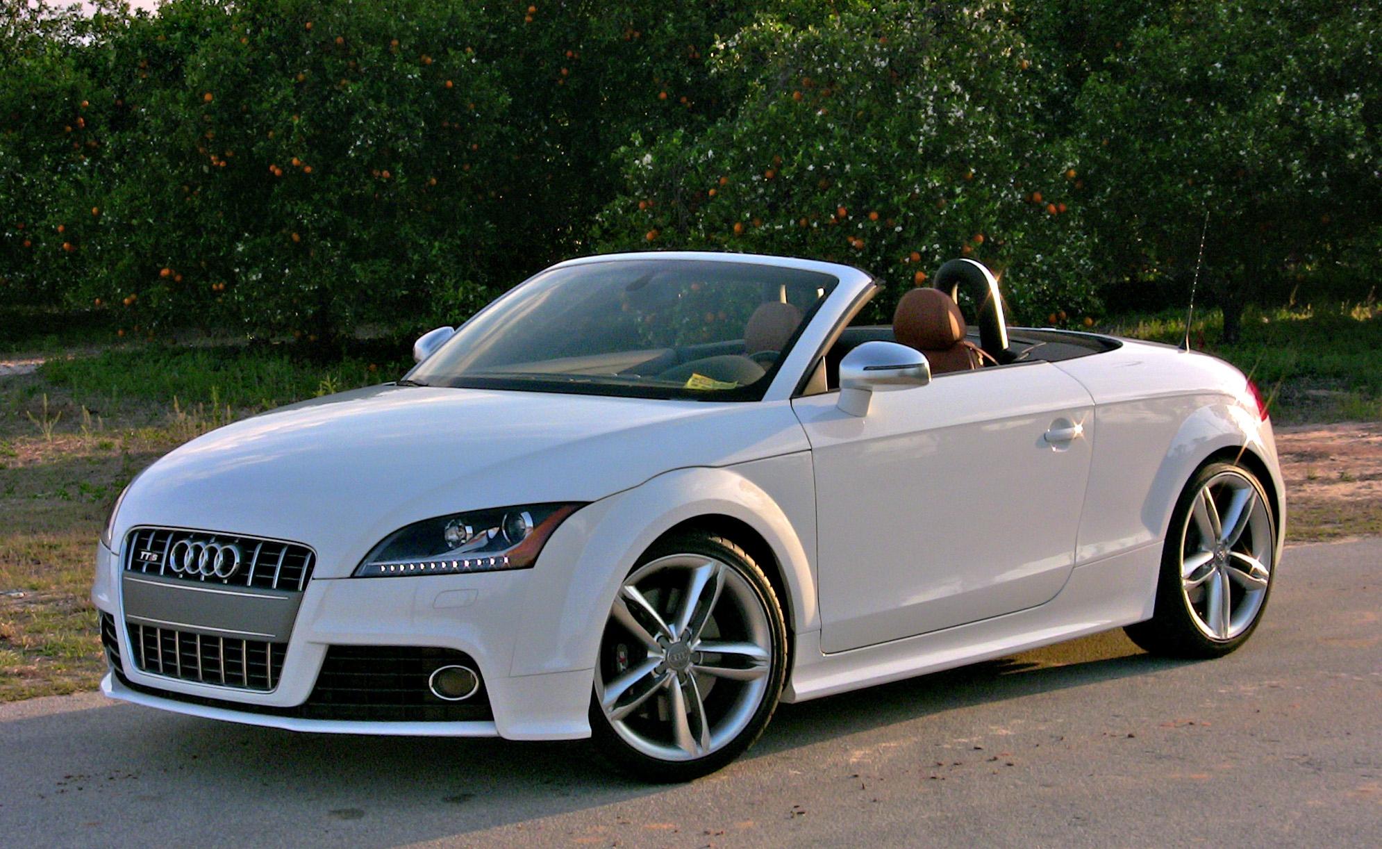 Audi Tt Roadster Hd Background