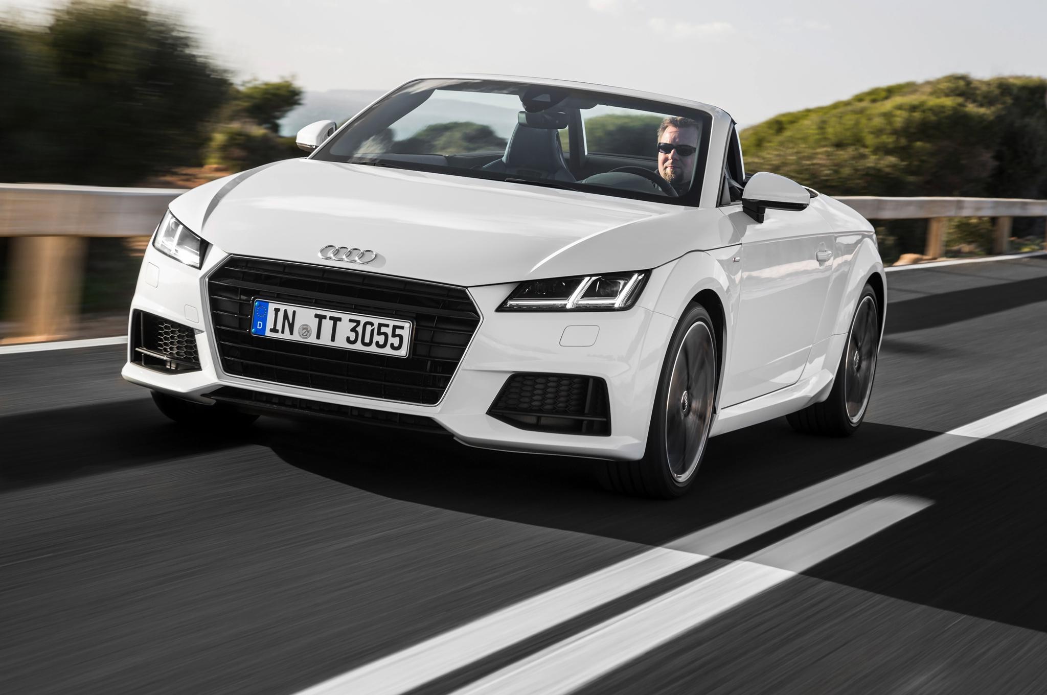 Audi Tt Roadster Wallpapers Hd