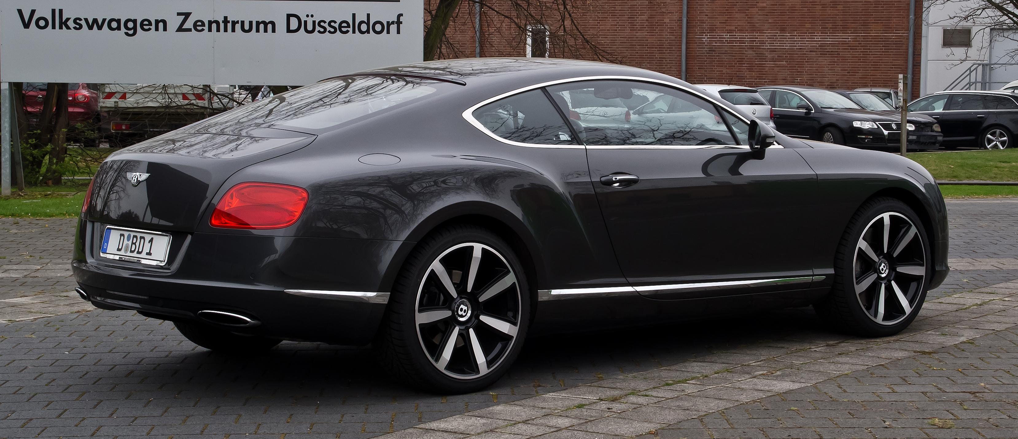 Bentley Continental Gt Hd Background