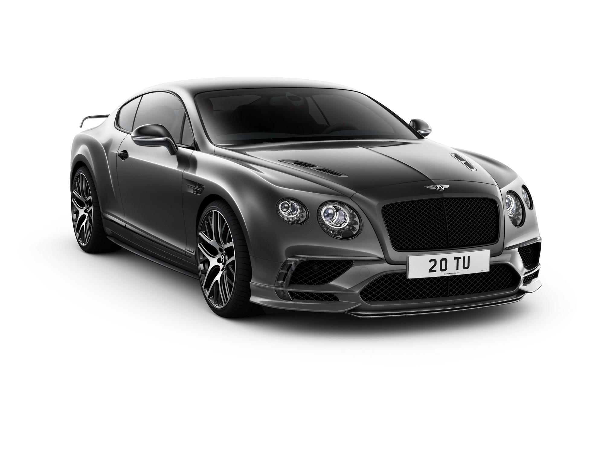 Bentley Continental Supersports Photos