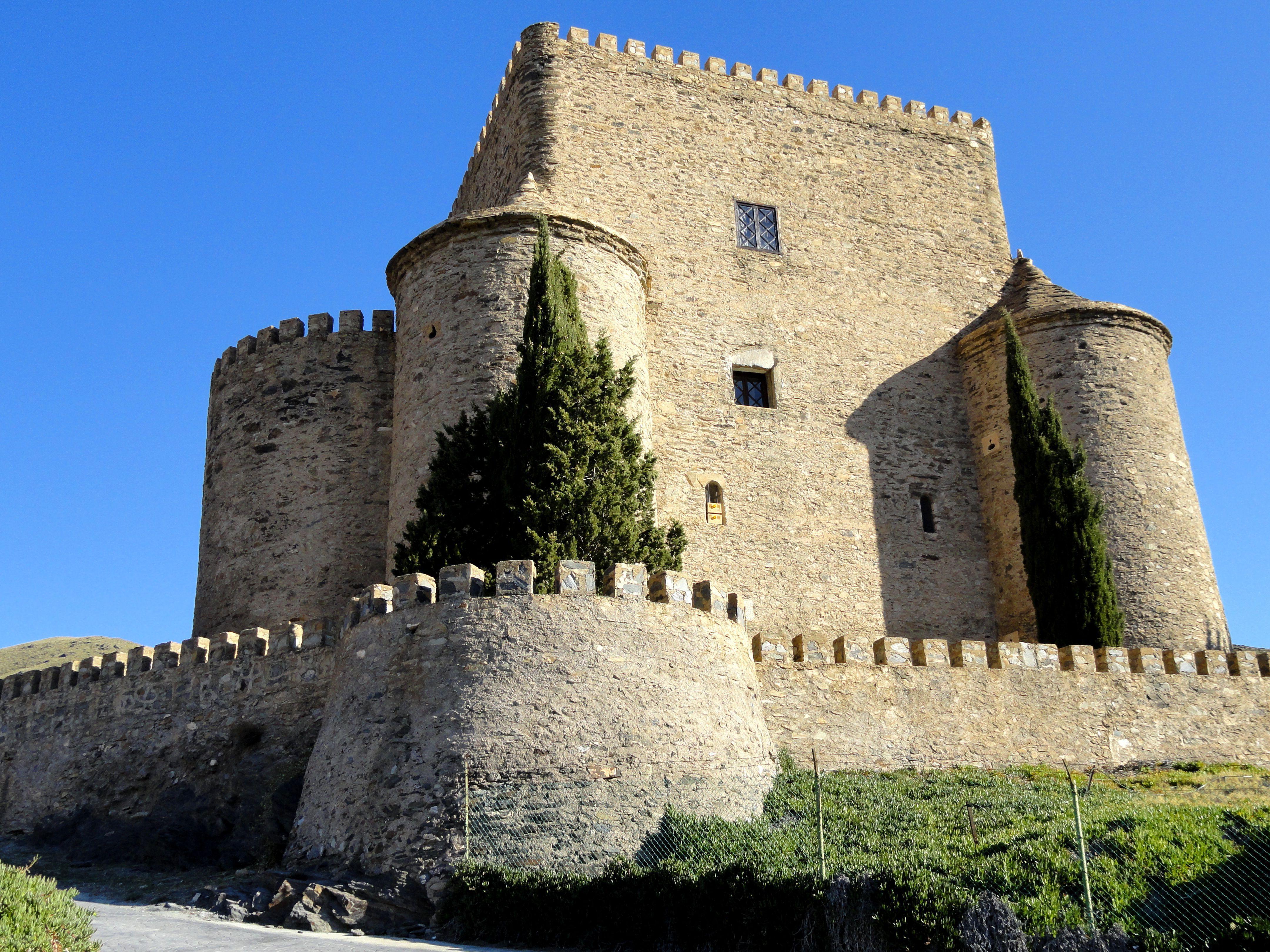 Castillo De La Cueva Hd Wallpaper