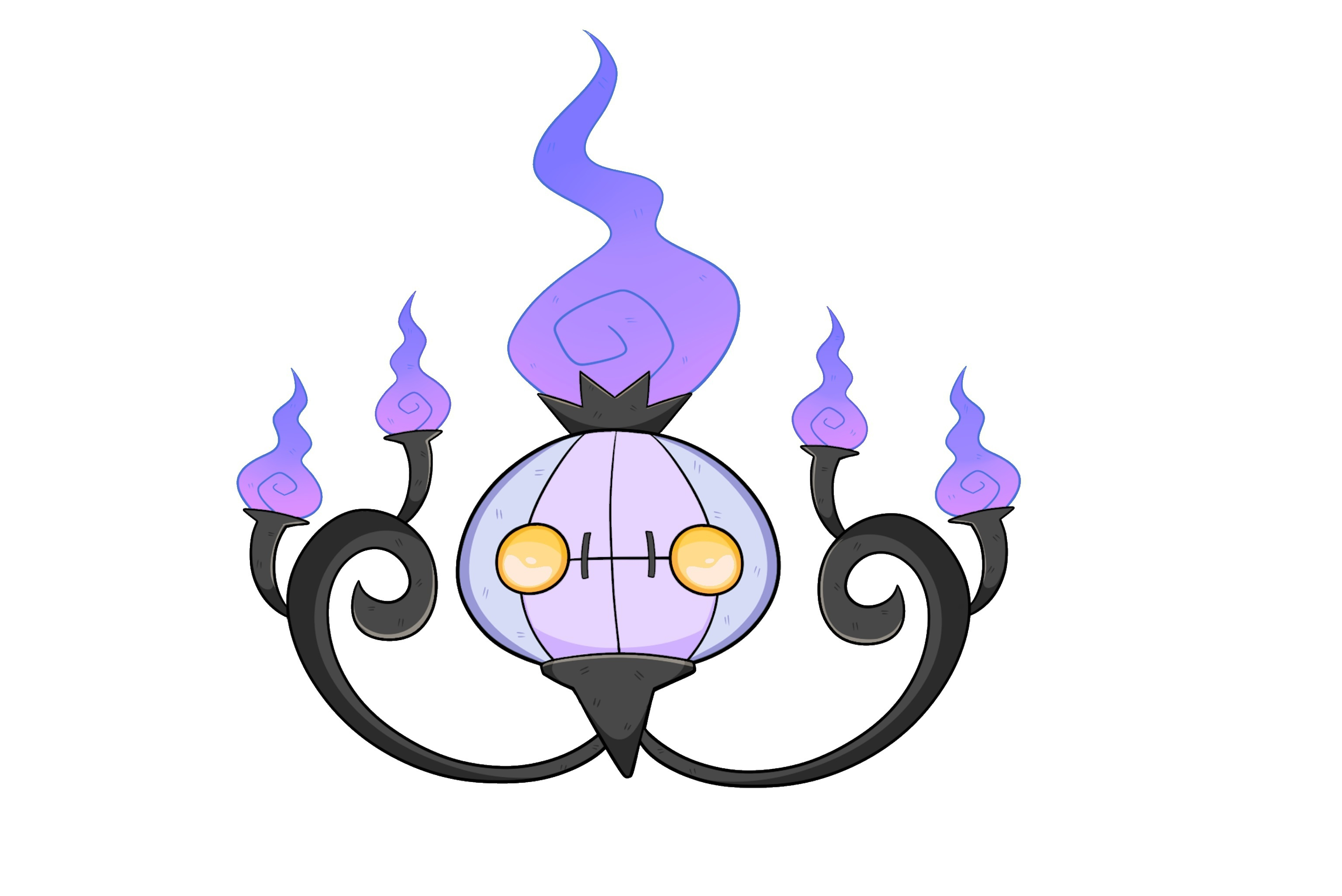 Chandelure Hd Wallpaper
