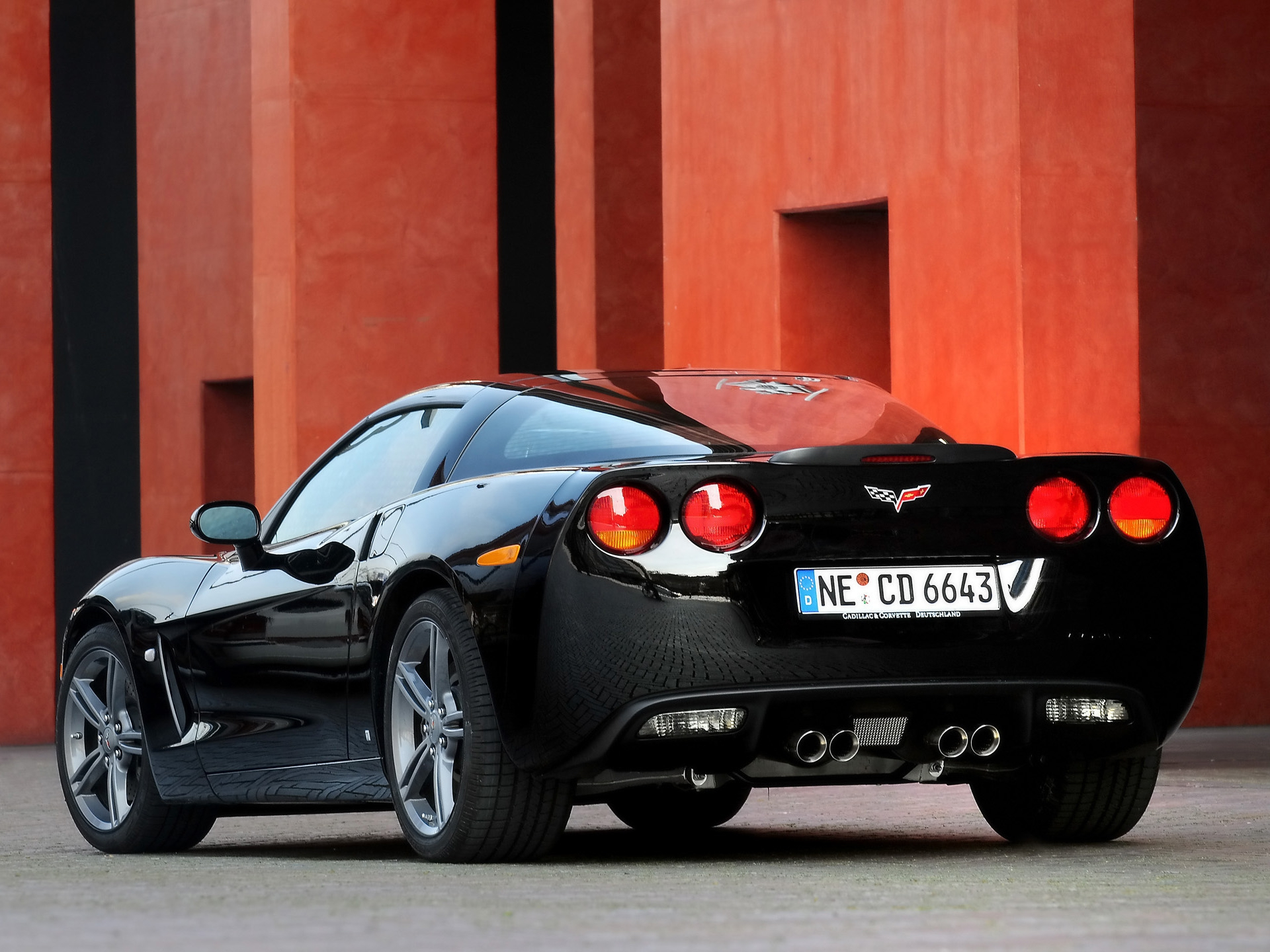 Chevrolet Corvette Background