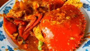 Chili Crab Wallpaper
