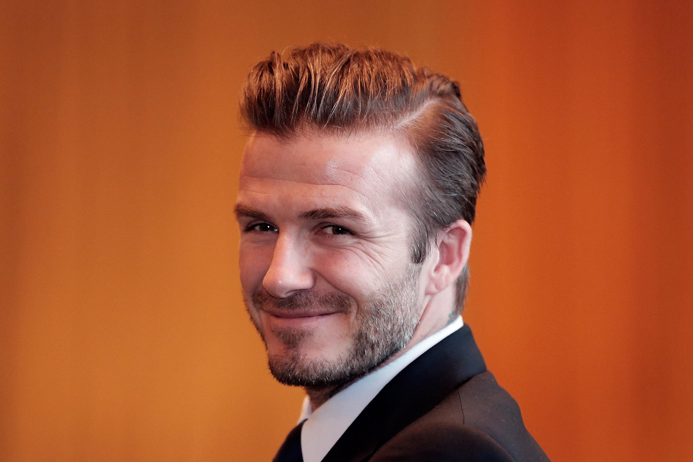 David Beckham Hairstyle 1763