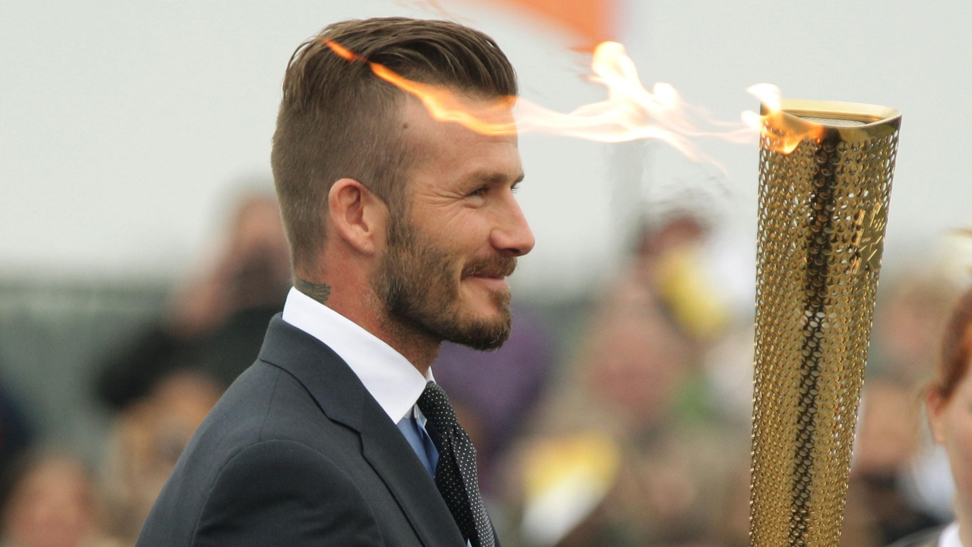 David Beckham Hairstyle 6423