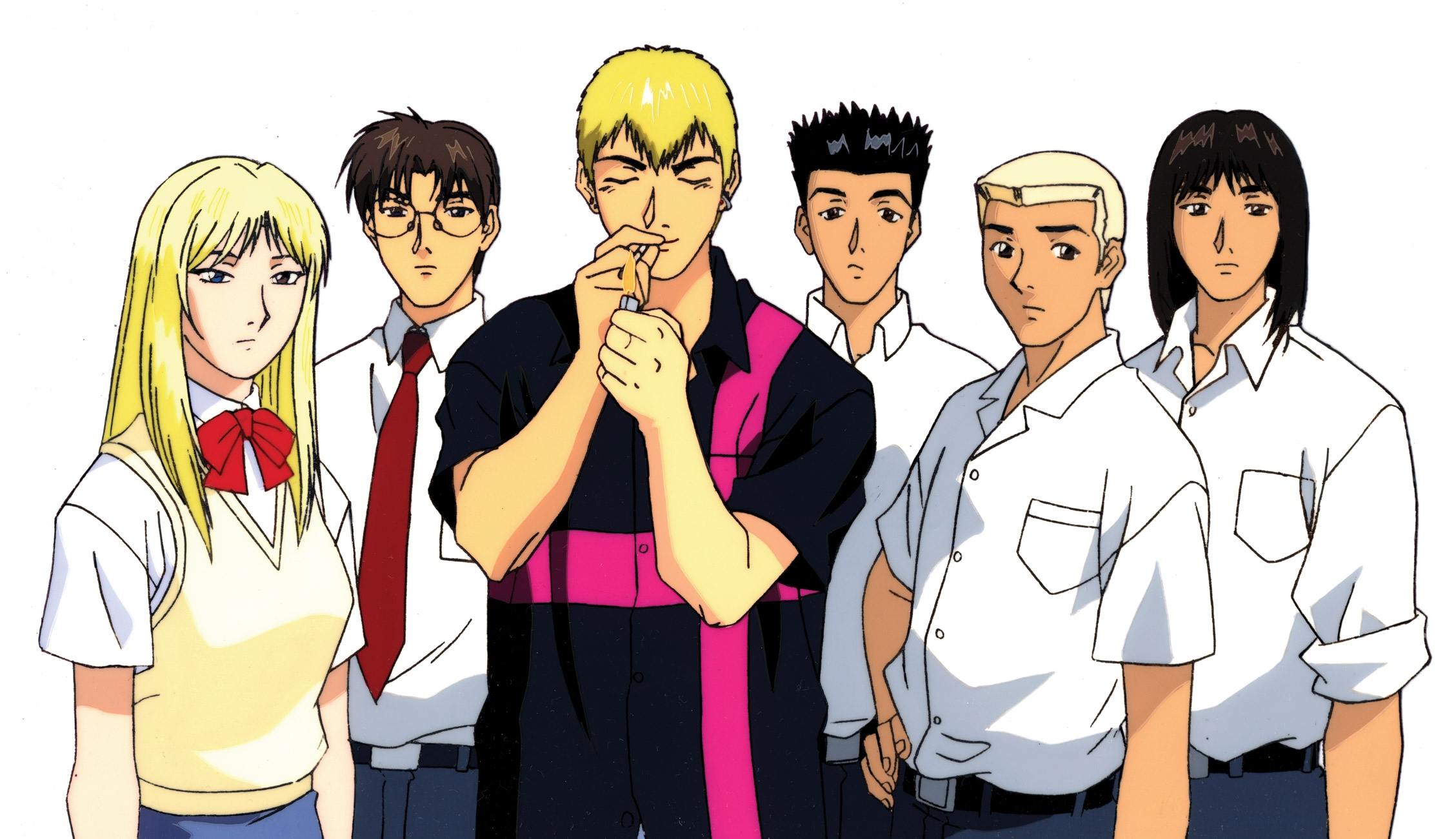 Eikichi Onizuka Hime Onizuka Great Teacher Onizuka Yusuke